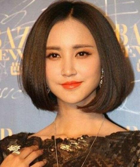 张歆艺_短发照图片