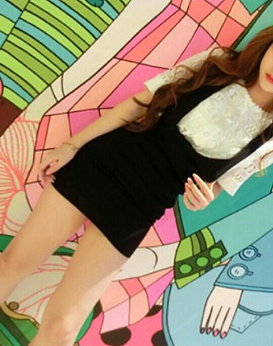 【韩版时尚甜美小清新樱桃收腰闺蜜装显瘦无袖背带裙】 美女们,裙子是