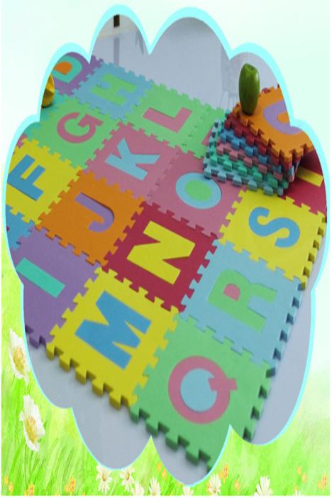 字母数字动物拼图地垫宝宝爬行垫室内儿童泡沫地板垫子无毒味门垫,长