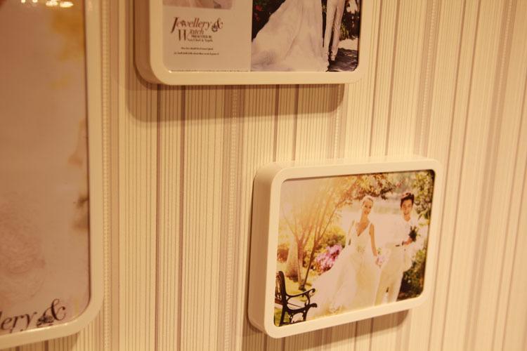 创意欧式组合卧室照片墙百搭结婚纱照挂墙客厅温馨甜蜜相框 包邮