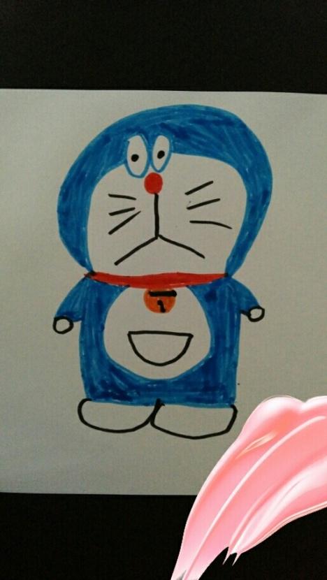 幼儿手绘叮当猫