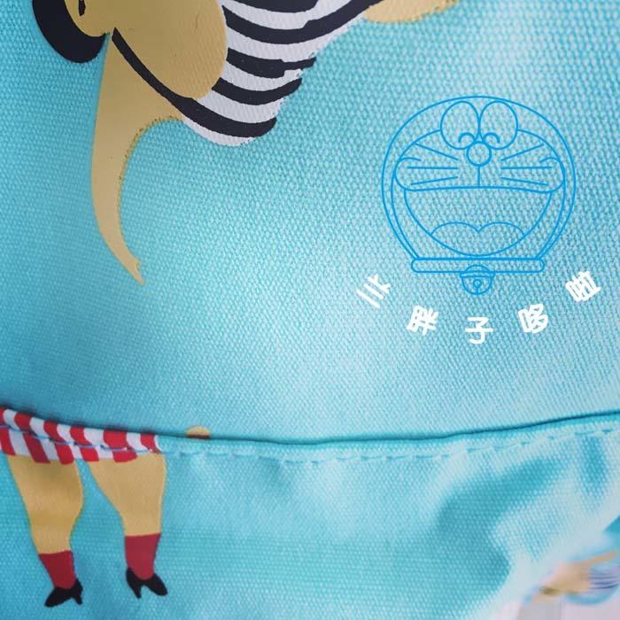 【韩国原宿软妹森系可爱汉堡薯条煎蛋插画双肩包书包图片