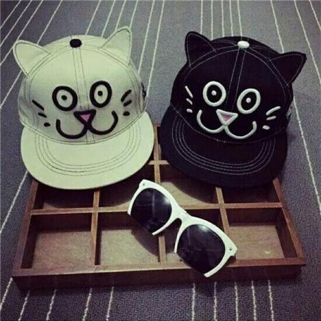可爱猫咪帽子 戴起来萌哒哒的