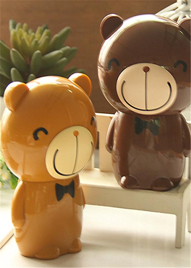 商品描述 不锈钢制作的美甲工具,可爱的套头小熊,让你随时随地享受美