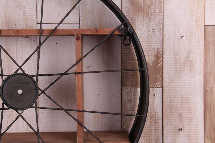 木质隔板支架图