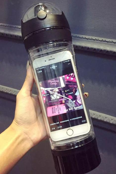 萌萌爱ibottle运动水壶/iphone6苹果手机杯