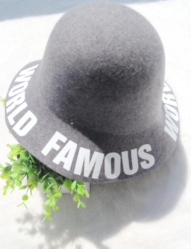 韩国原单英伦复古毛呢帽子