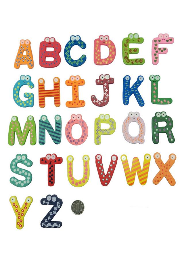 英语的26个字母怎么写