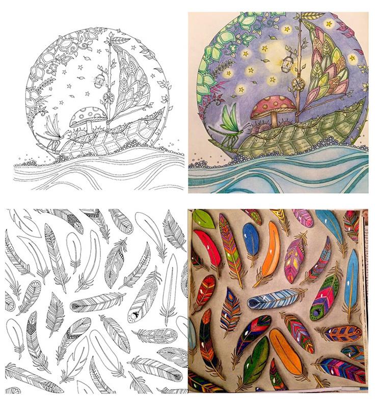 现货 秘密花园 奇幻梦境 魔法森林 手绘涂色书 填色本