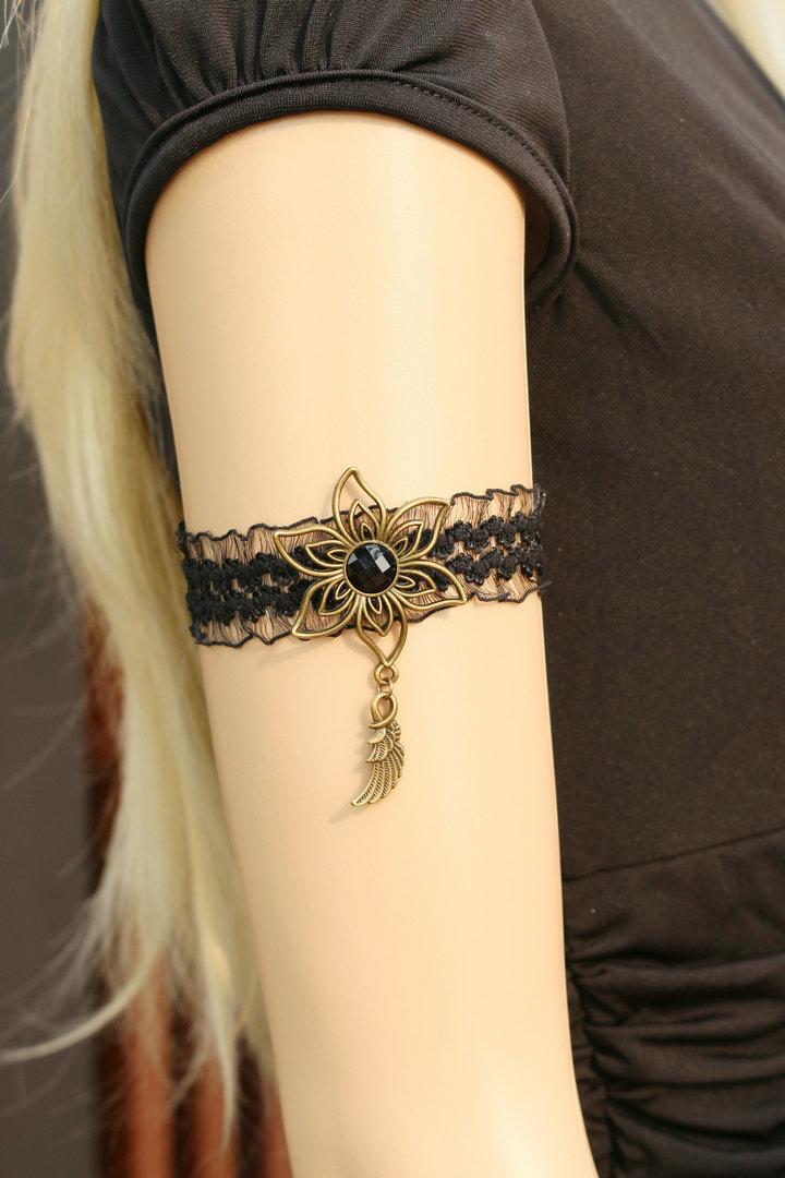 臂环纹身手稿蕾丝分享展示图片