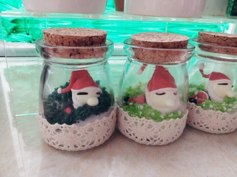 【粘土圣诞老人瓶子】-无类目-百货