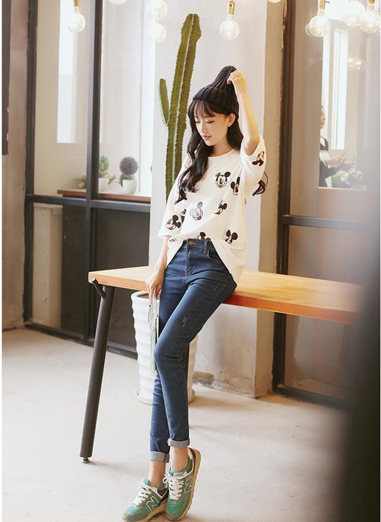 【唐宝店 新款纯棉可爱米奇卡通t恤】-衣服-服饰鞋包