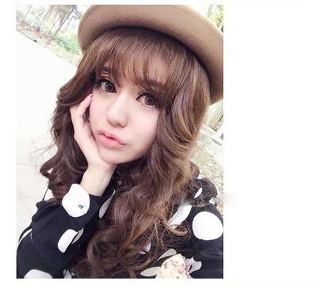 韩式空气刘海发型图片:瘦脸甜美