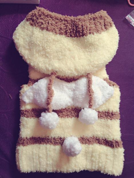 【小蜜蜂珊瑚绒马甲】-无类目--淡然为我-蘑菇街优店