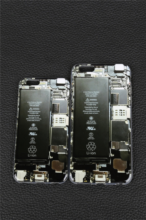 恶搞电路板苹果手机壳