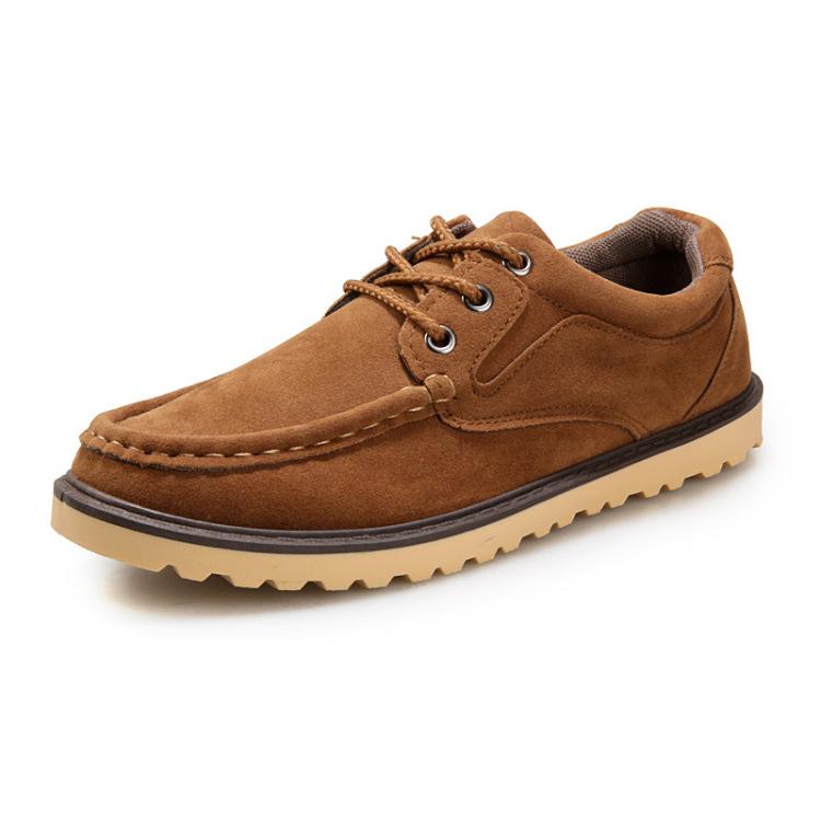 【英伦复古男士休闲鞋】-男装-低帮鞋