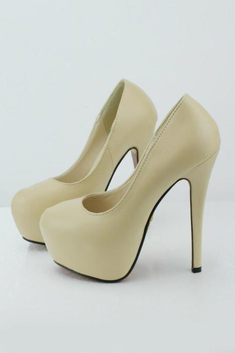 5厘米方口细跟单鞋