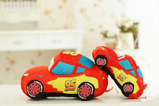 包邮汽车总动员闪电麦昆板牙公仔娃娃毛绒玩具赛车