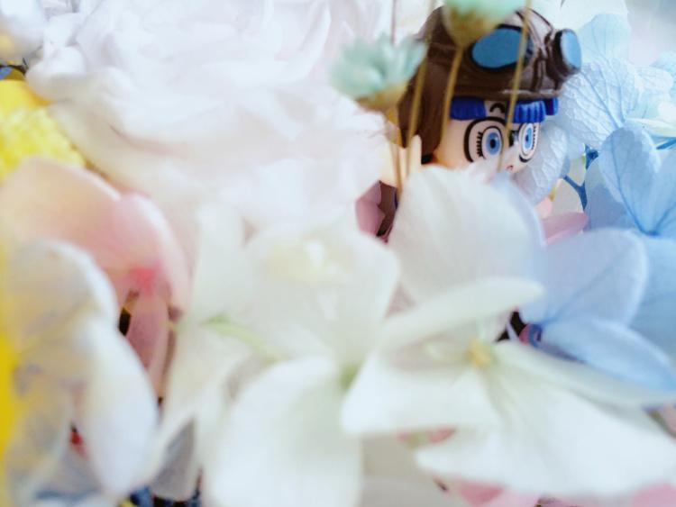 创意生日礼物渐变色永生玫瑰花礼盒《缺氧》可爱公主梦幻萌萌哒