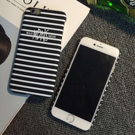余文乐iphone6手机壳4.7苹果6plus条纹5s硬磨砂
