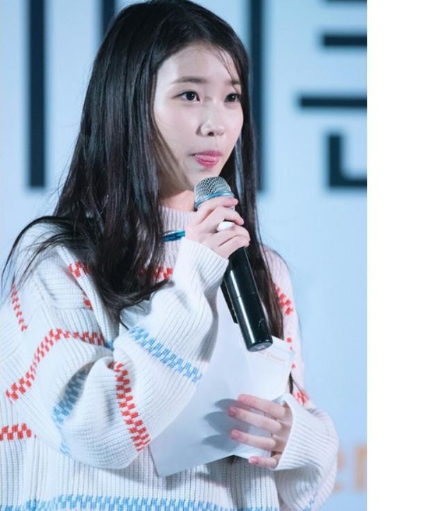【韩国新款iu李智恩同款彩虹条纹毛衣】-衣服-服饰鞋