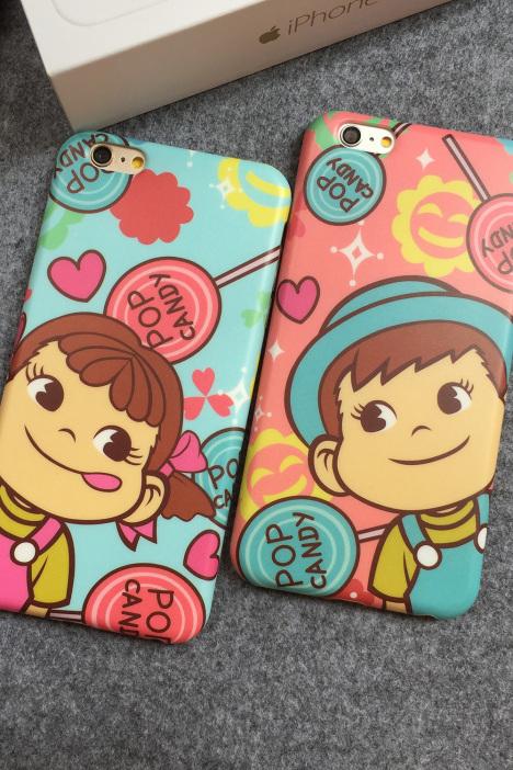 【iphone6s迪士尼卡通手机壳唐老鸭黛丝情侣保护套妹