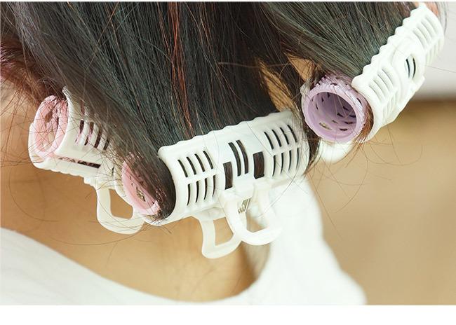 琳琅集*【3个装】塑料梨花刘海卷发器