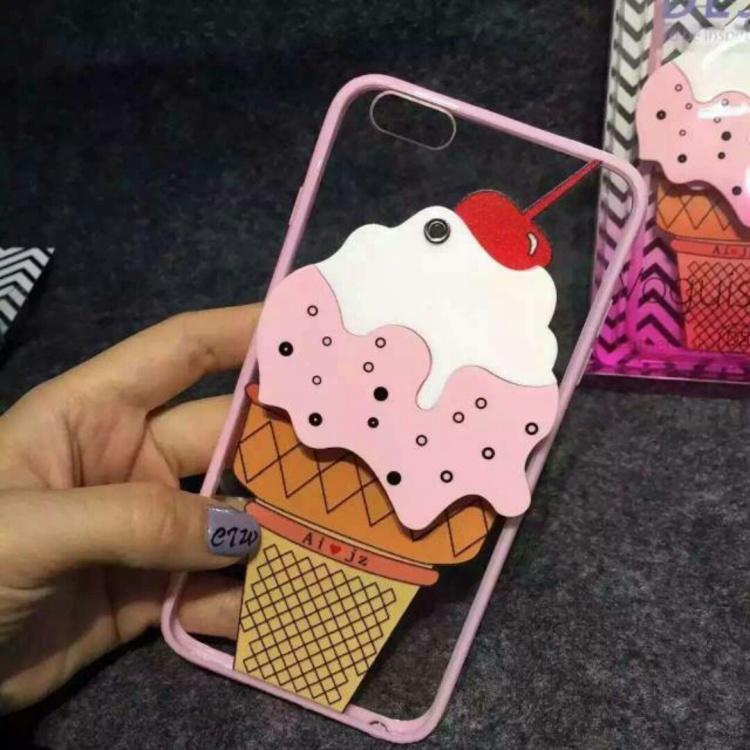 iphone6/6s plus粉嫩冰淇淋手机壳