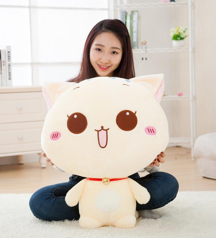 可爱猫咪布偶大脸猫公仔毛绒玩具
