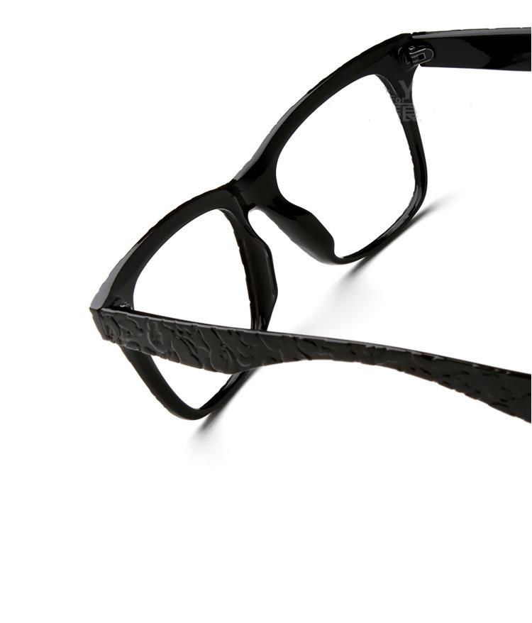【大框圆脸眼镜框】-配饰-配饰_框架眼镜_女士配饰-家