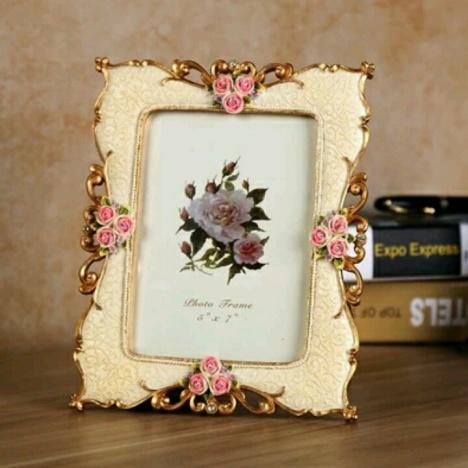 【欧式复古田园相框韩国结婚礼物婚纱照相片框树脂6