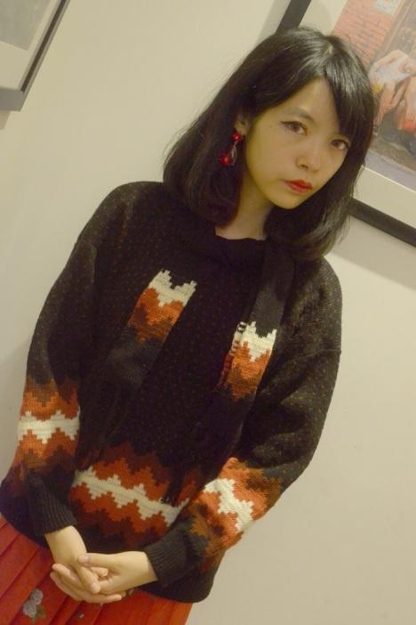 【雪地圣诞节花纹复古毛衣】-无类目-服饰鞋包
