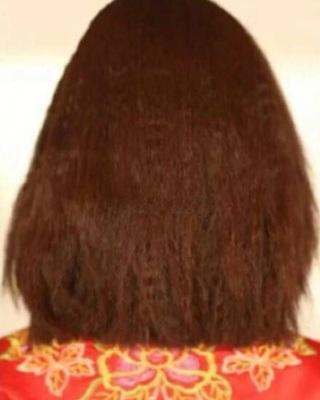 新娘中式发型之一