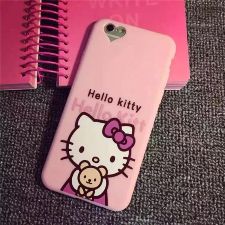【新款可爱粉色kitty苹果6代卡通iphone6