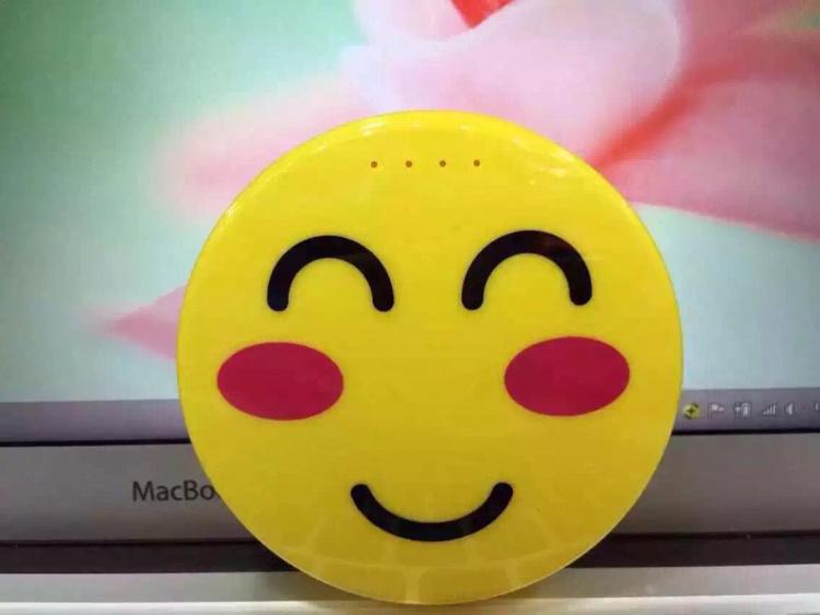 【可爱笑脸充电宝】-无类目-3c数码配件