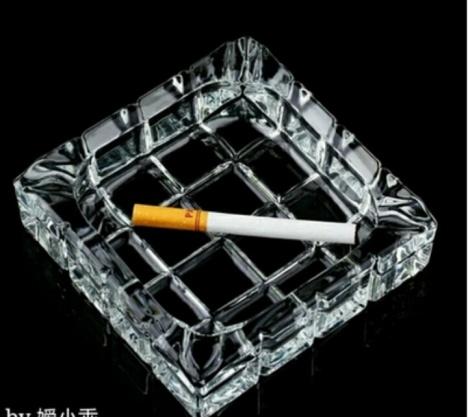 欧式个性网格烟灰缸办公室 客厅 家用