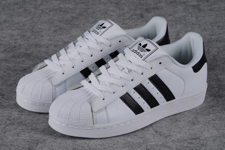 【经典款贝壳头情侣运动鞋学院风学生黑白】-鞋子-_鞋