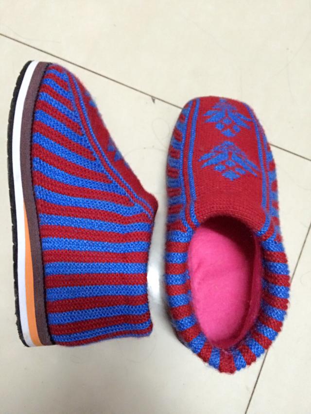 纯手工制作棉鞋,冬季保暖必备.