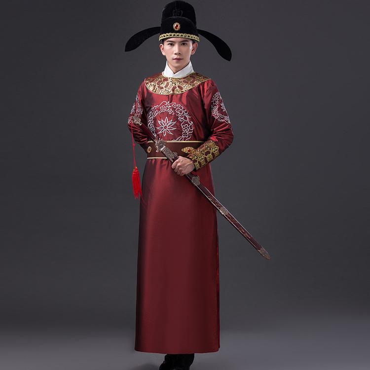 古装服饰-大臣拍袖子动图图片