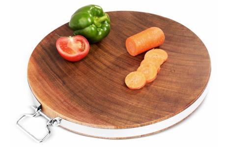 铁木菜板 实木砧板 非洲 泰国 越南宪木切菜板(送砧板架)