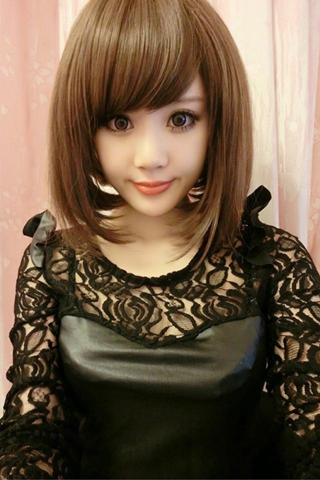 买一送七 短发全头假发套 斜刘海韩国女生学生高温丝bobo头图片