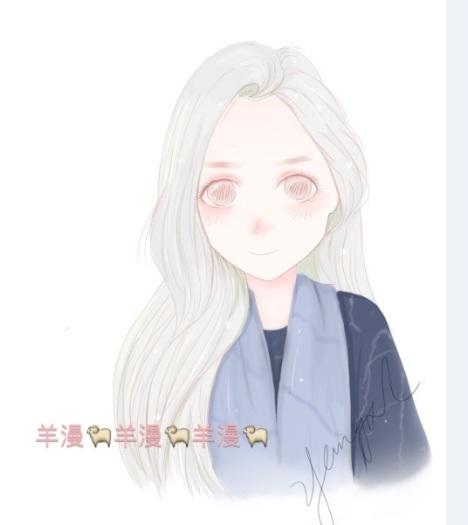 【q版头像节日定制动漫画卡通唯美手绘萌日系插画