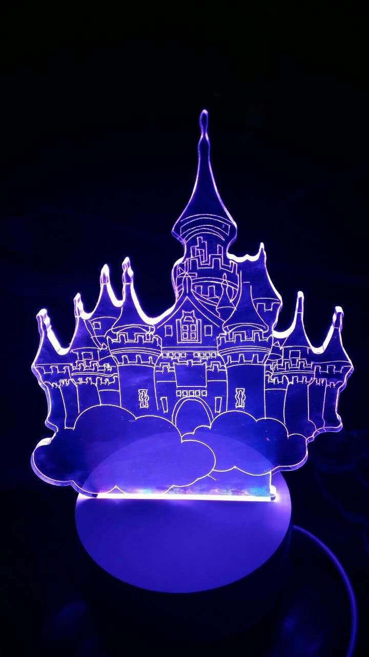 创意3d小夜灯led台灯卧室床头灯