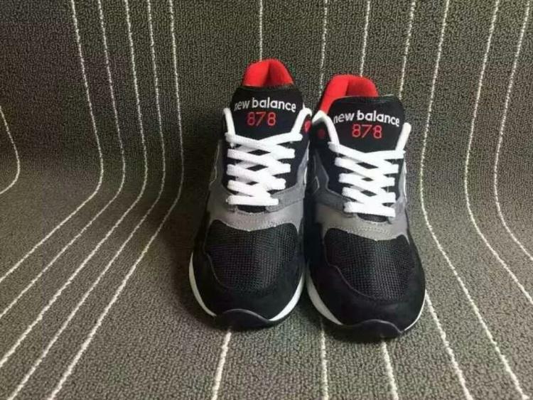 新百伦878鞋带系法图解