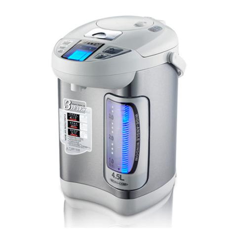 维奥仕电热水瓶电烧水壶不锈钢保温饮水机4.5l