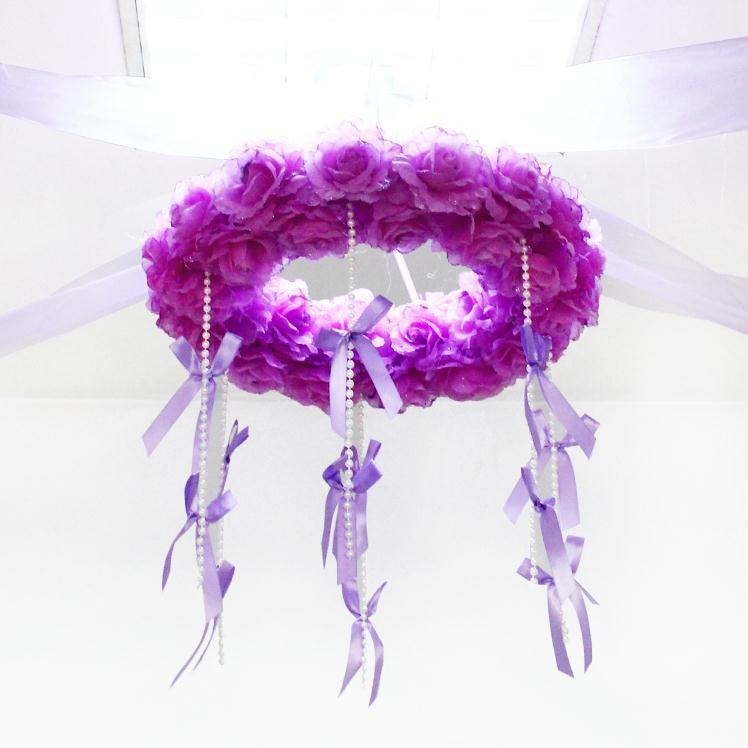 【玫瑰花花球 婚房布置装饰】-null-百货