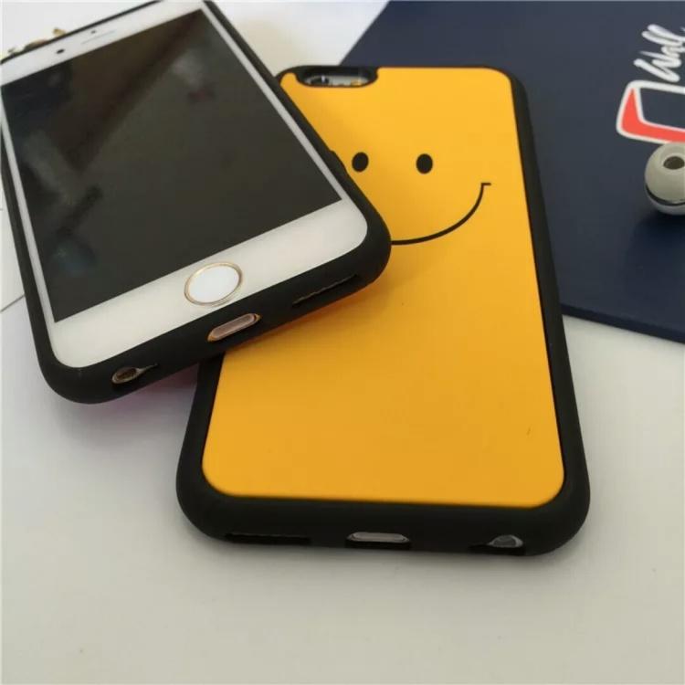 【韩国简约可爱笑脸表情手机壳iphone6s苹果6s手机壳