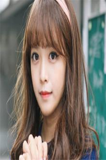 韩国假发女生空气刘海长发长直发甜美可爱中长发蓬松微卷梨花假发图片