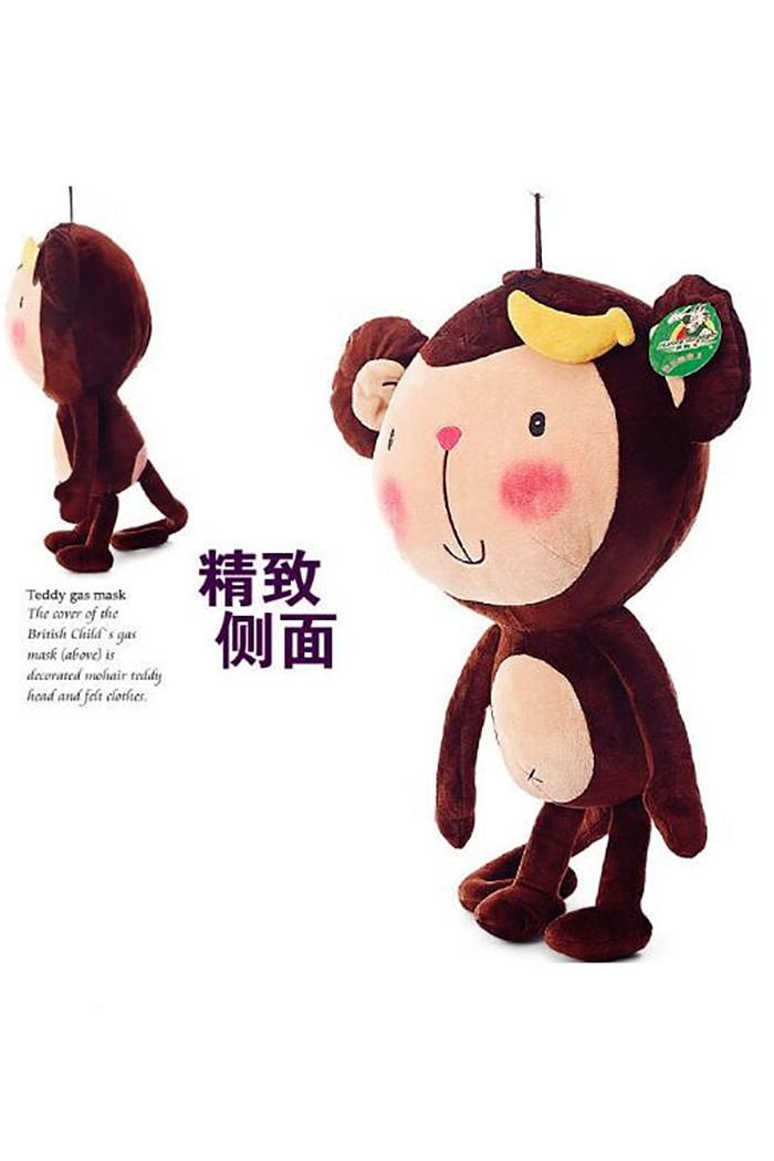 2016超萌长尾猴新年礼物毛绒玩具公仔 猴年吉祥物