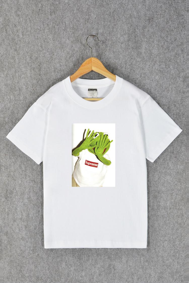 小青蛙 夏季情侣短袖t恤】-男装-t恤